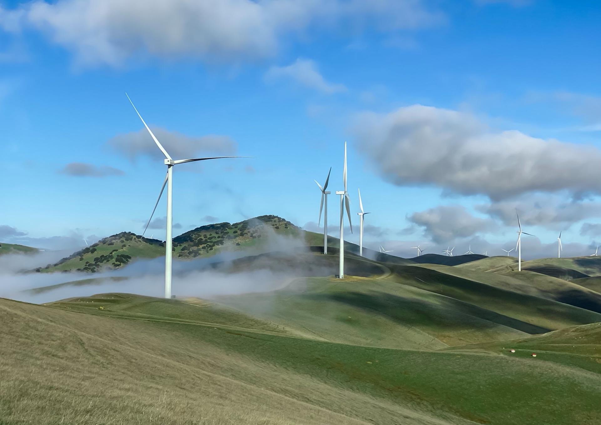 New Altamont wind center
