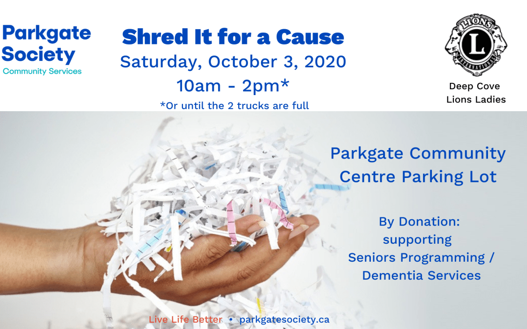 Shred It for a Cause!