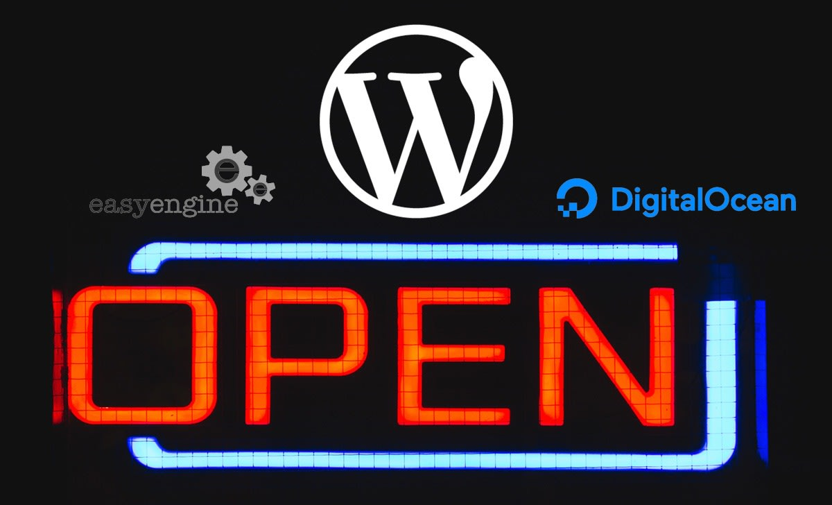 Building a Super Optimized WordPress with EasyEngine on DigitalOcean