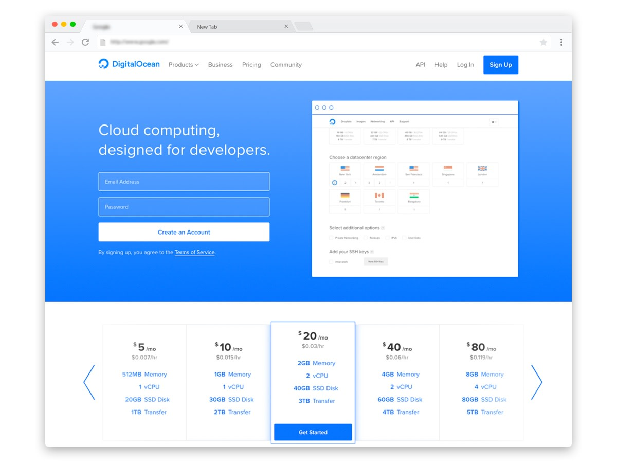 DigitalOcean cloud hosting Discounts Coupons