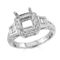 Halo Princess Cut Diamond