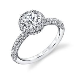Vintage Pear Diamond Engagement Rings