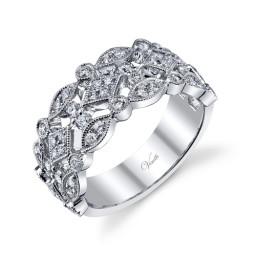 Diamond Infinity Ring Yellow Gold