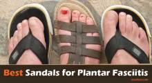 best plantar fasciitis sandals