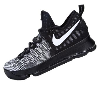 69ab32bcd615e7 Nike Zoom KD 9 Men s Shoes Black White