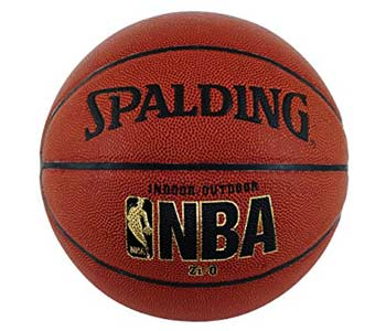 Spalding NBA Zi O Indoor Outdoor Basketball