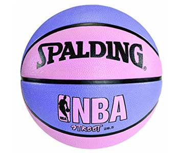 Spalding NBA Street Basketball - Pink & Purple