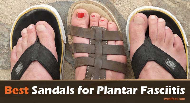 best plantar fasciitis sandals