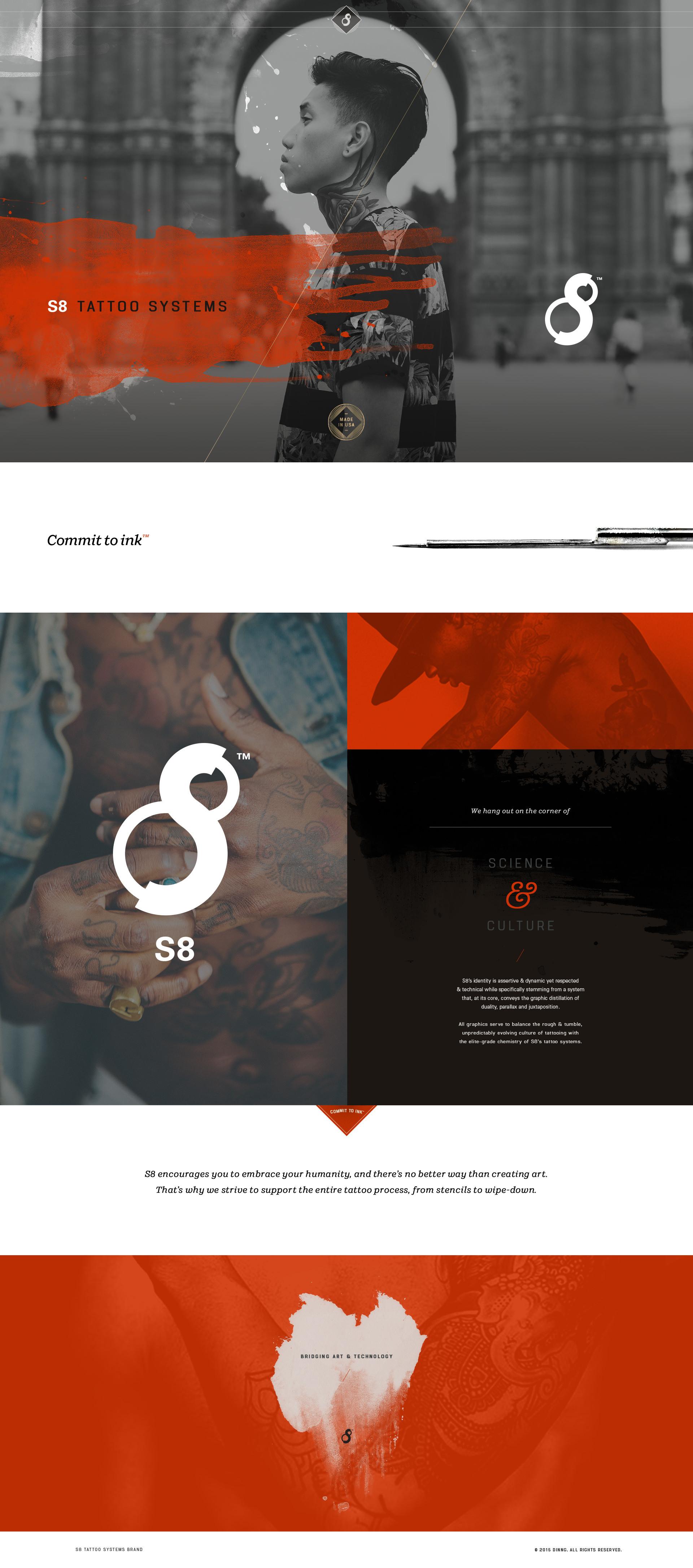 S8 Brand Identity