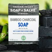 chagrin-valley - activated-bamboo-charcoal-soap