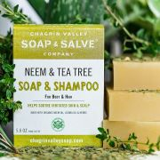 chagrin-valley - neem-tea-tree-body-hair-shampoo-bar