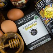 chagrin-valley - honey-beer-egg-shampoo-bar