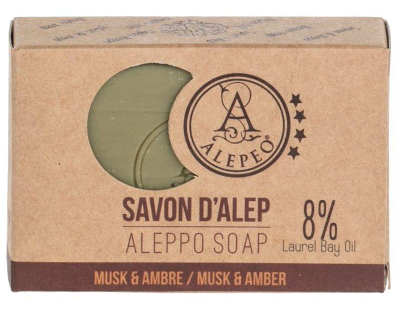 alepeo - aleppo-olijfzeep-musk-amber