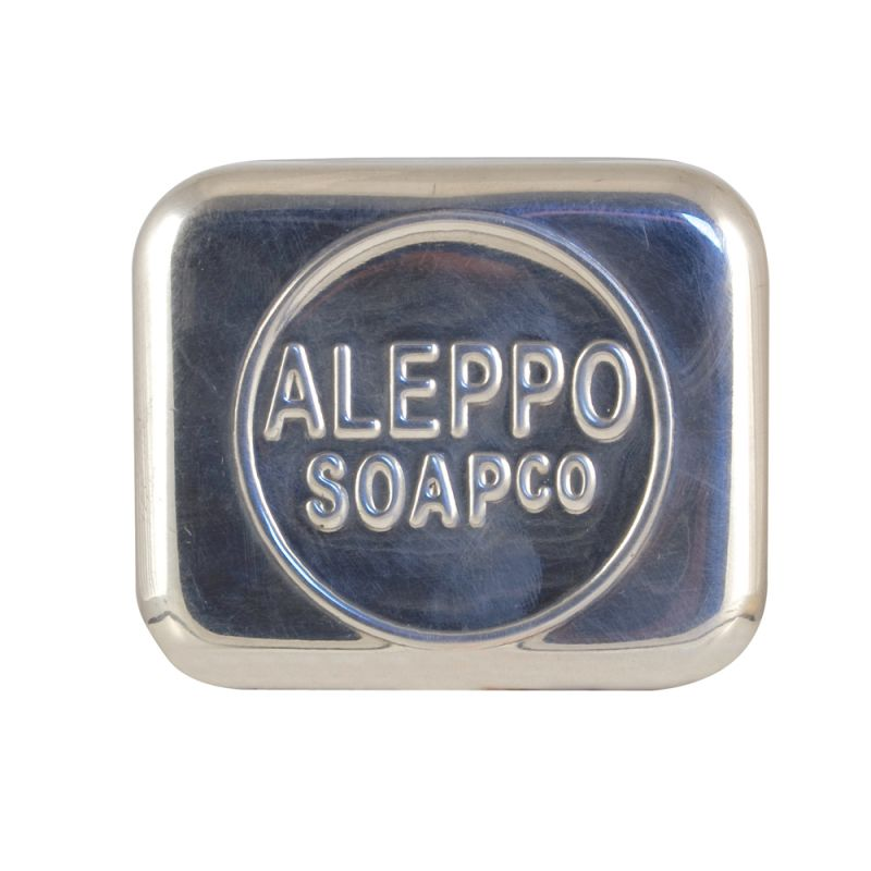 aleppo-soap-co - aluminium-zeepdoos