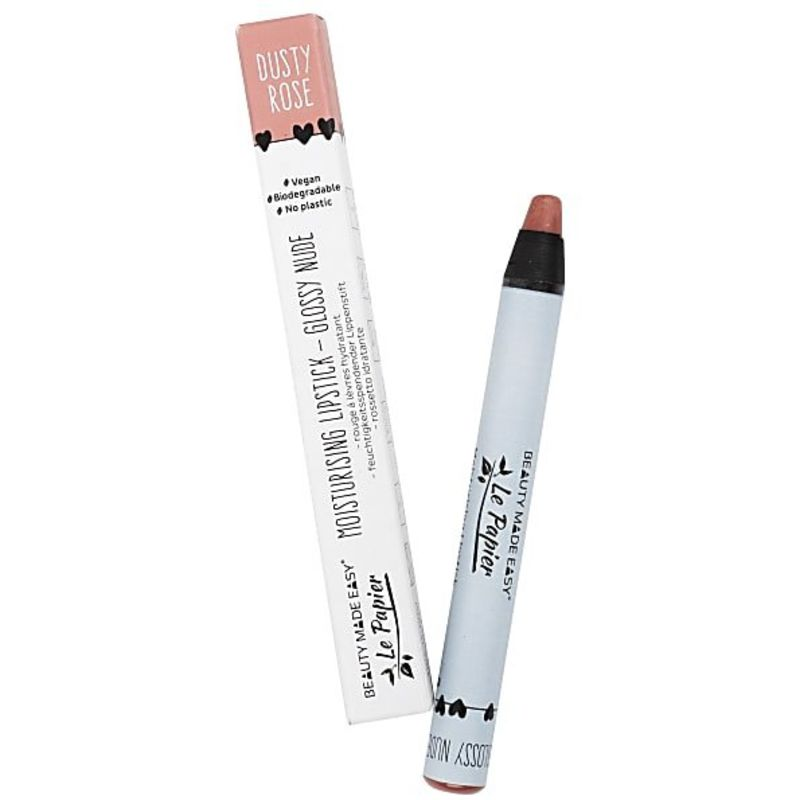 beauty-made-easy - glossy-lipstick---dusty-rose