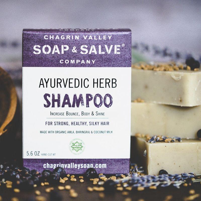 chagrin-valley - ayurvedic-herb-shampoo-bar