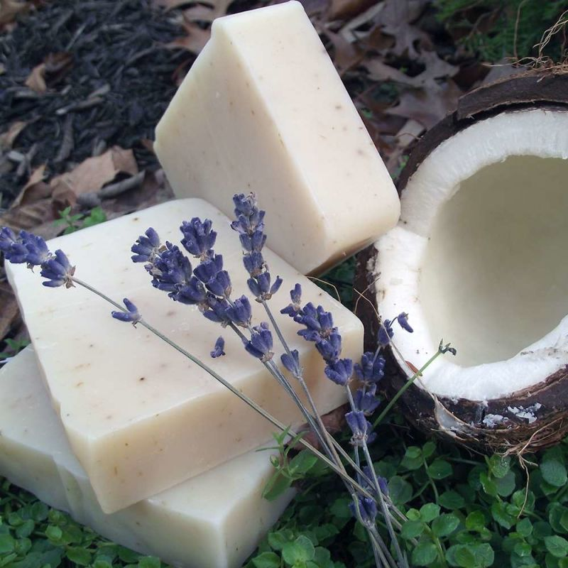 chagrin-valley - coconut-shea-lavender-soap