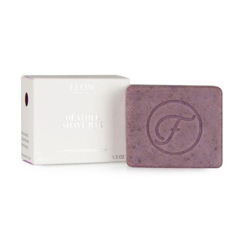 flow-cosmetics - heather-scheerzeep--kalmerende-zeep-voor-het-scheren