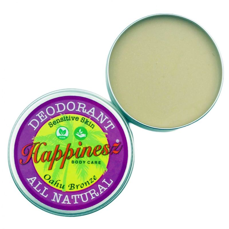 happinesz - sensitive-vegan-all-natural-deodorant-oahu-bronze