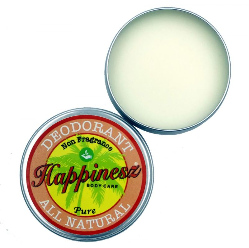 happinesz - non-fragrance-all-natural-deodorant-pure