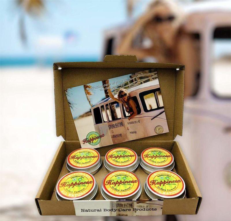 happinesz - urban-summer-deodorant-box