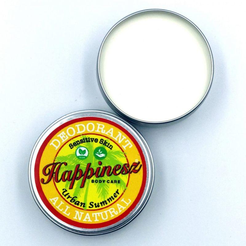 happinesz - sensitive-vegan-all-natural-deodorant-urban-summer