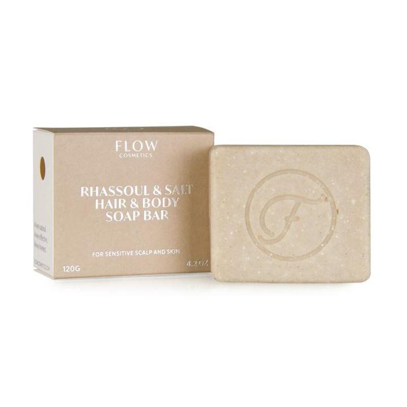 flow-cosmetics - rhassoul-clay-salt---haar-lichaam-shampoo-bar-voor-de-droge-en-gevoelige-huid