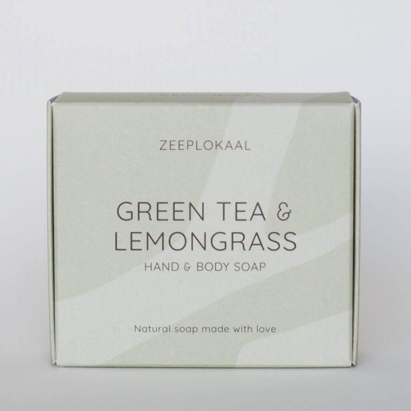 zeeplokaal - groene-thee-citroengras-zeep