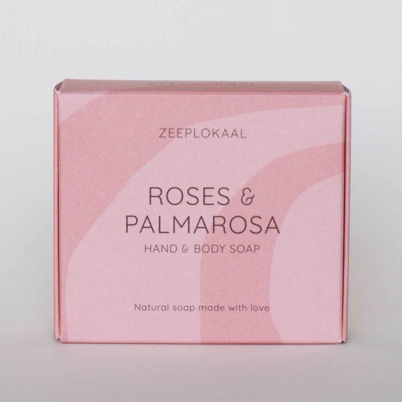 zeeplokaal - rozen-palmarosa-zeep