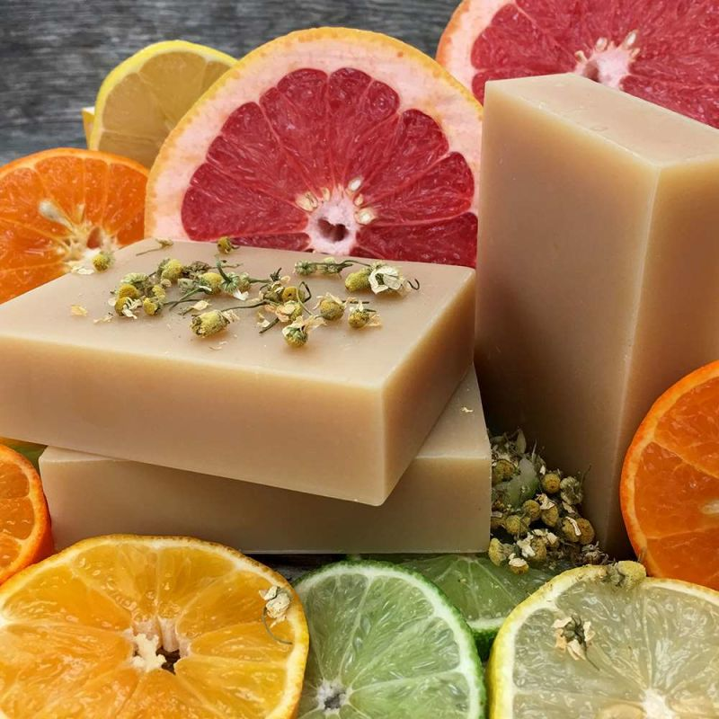 chagrin-valley - chamomile-citrus-shampoo-bar