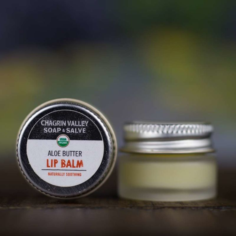 chagrin-valley - aloe-butter-natural-lip-balm