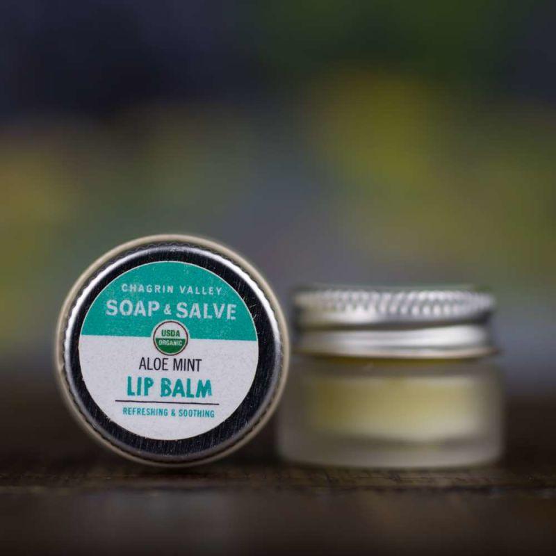 chagrin-valley - aloe-butter-doublemint-lip-balm