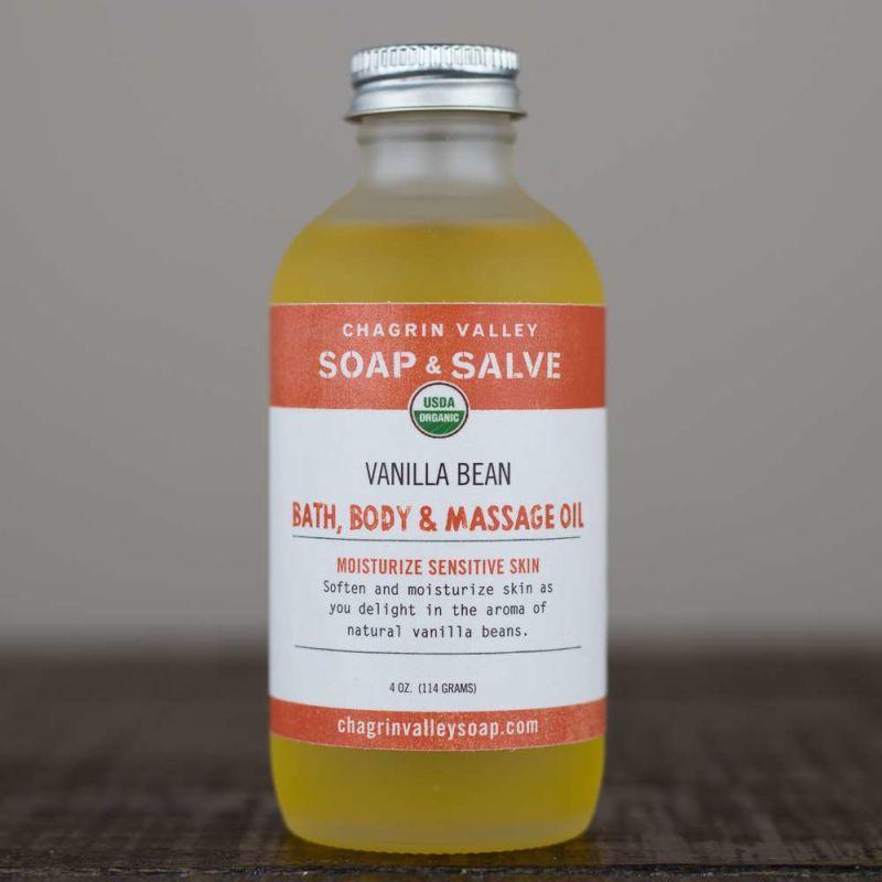 chagrin-valley - bath-body-massage-oil-vanilla-bean