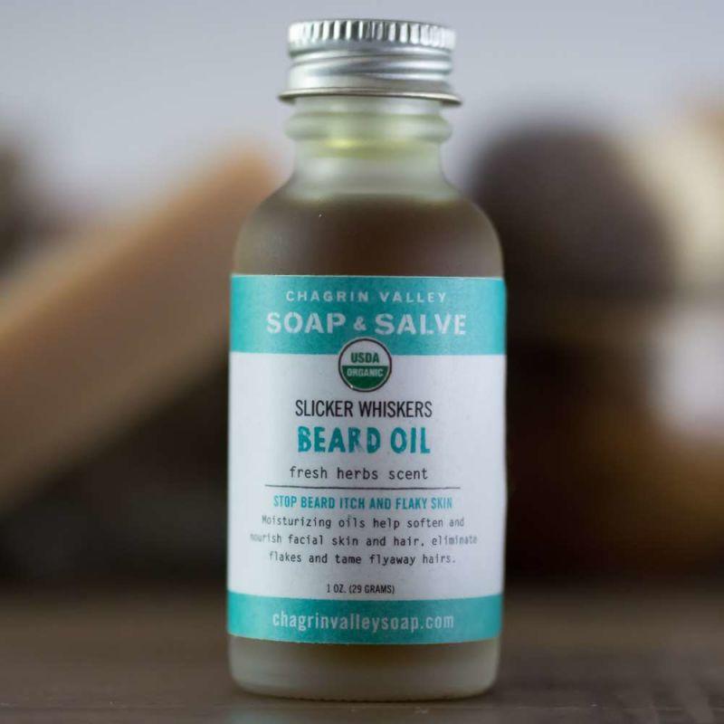 chagrin-valley - beard-oil-fresh-herbs-scent