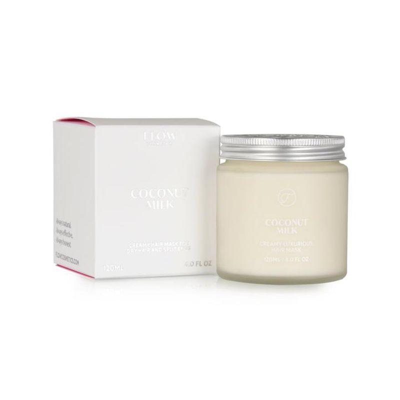 flow-cosmetics - coconut-milk---romig-luxueus-haarmasker-en-conditioner