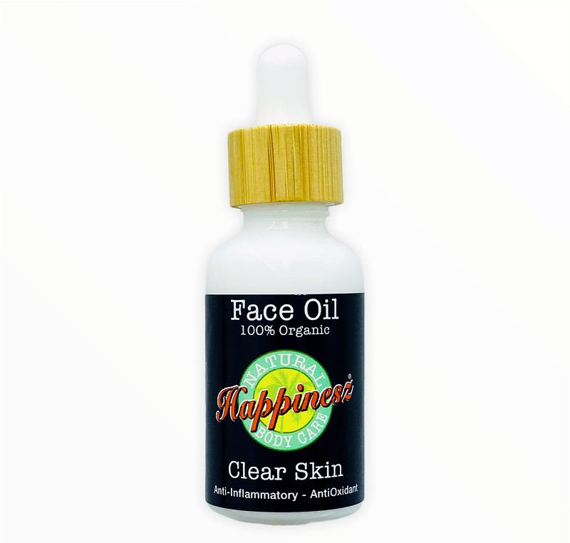 happinesz - organic-clear-skin-face-oil