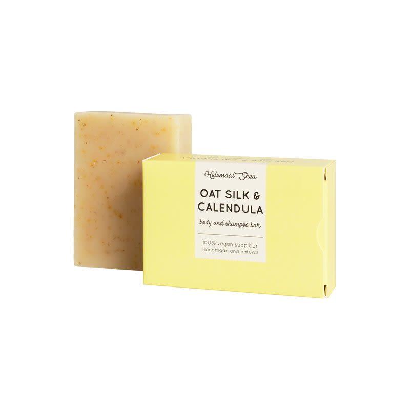 helemaalshea - haverzijde-calendula-body-shampoo-bar