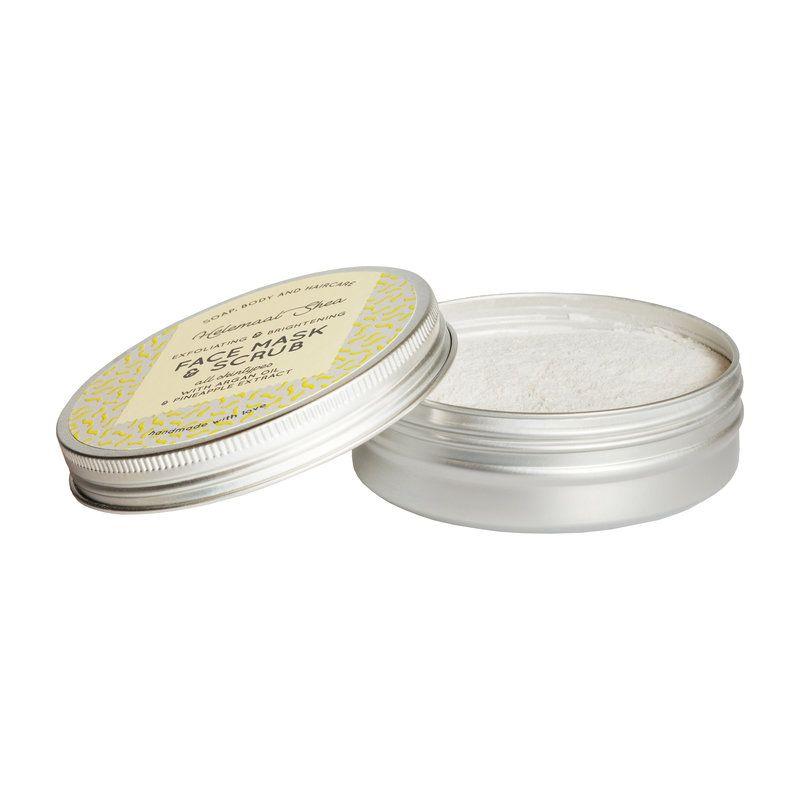 helemaalshea - klei-gezichtsmasker-scrub---exfoliating-brightening