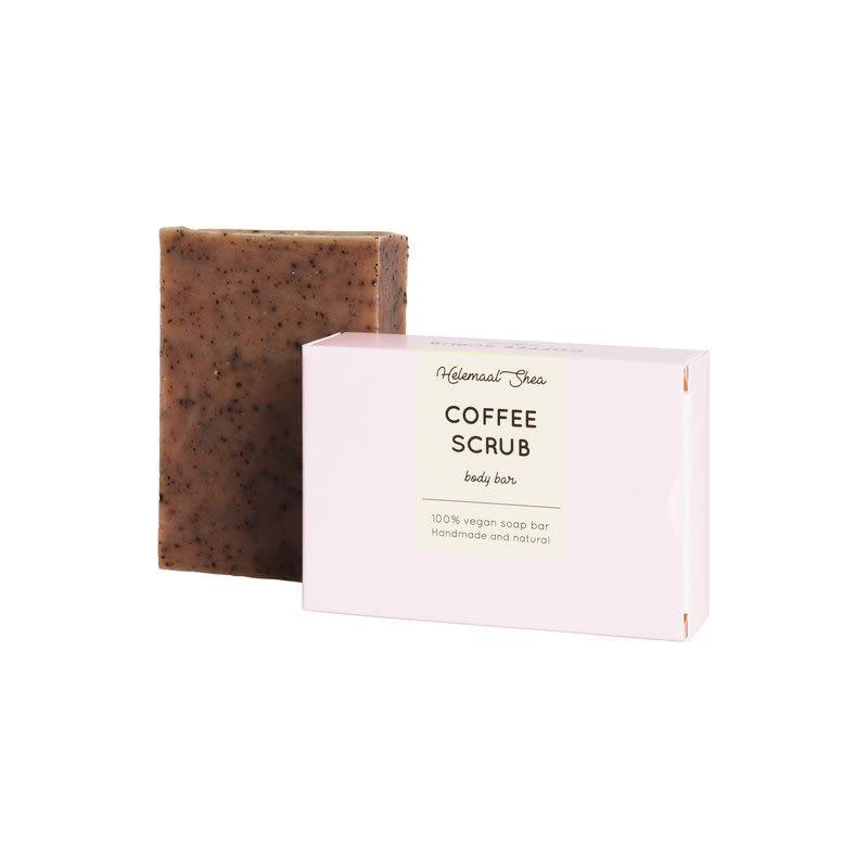 helemaalshea - koffie-scrub-zeep