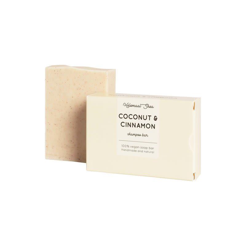 helemaalshea - kokos-kaneel-shampoo-bar