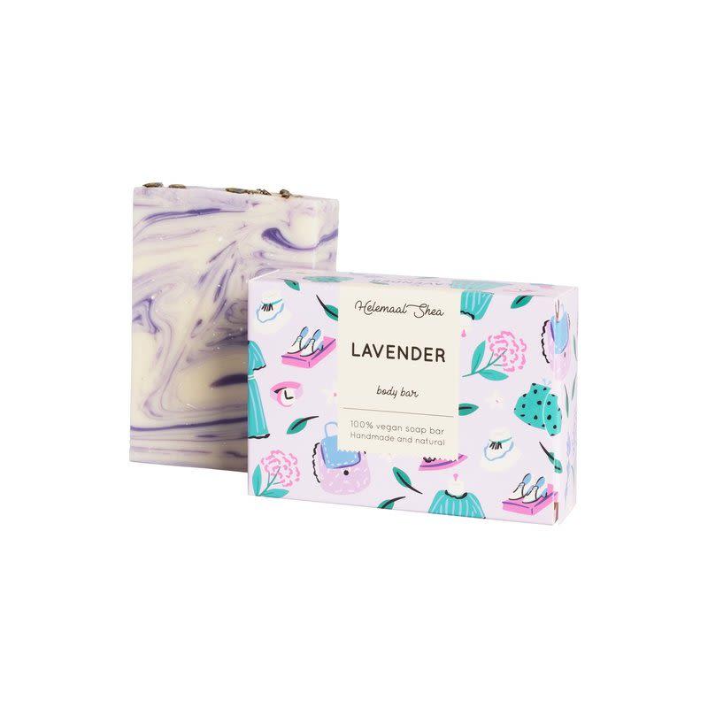 helemaalshea - lavendel-zeep