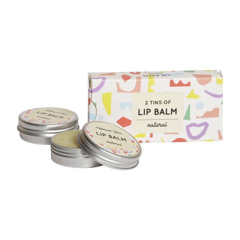 helemaalshea - lippenbalsem---natural---parfumvrij---2-blikjes-in-een-doosje