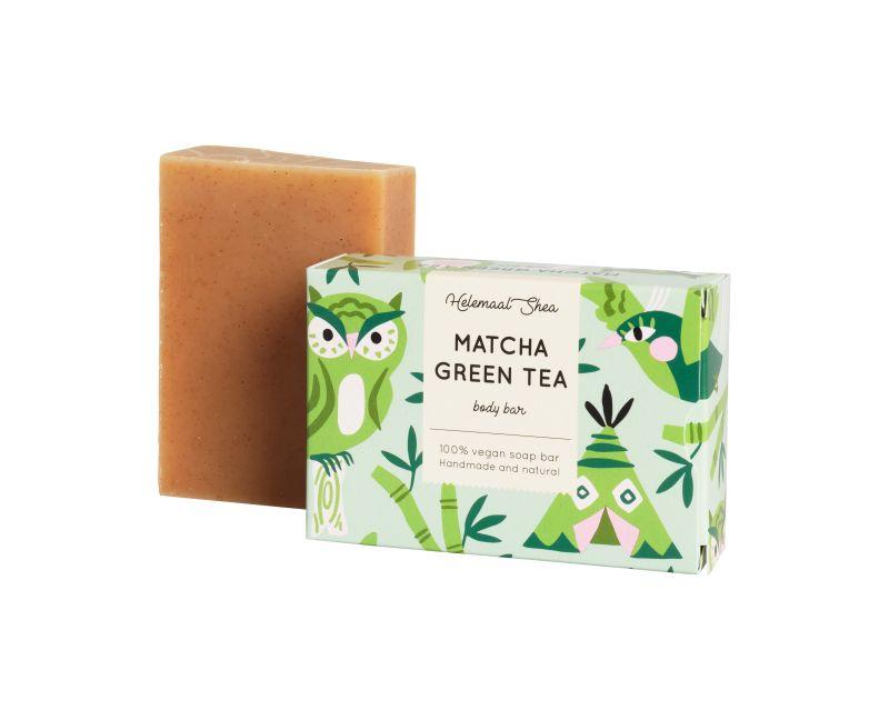 helemaalshea - matcha-groene-thee-zeep