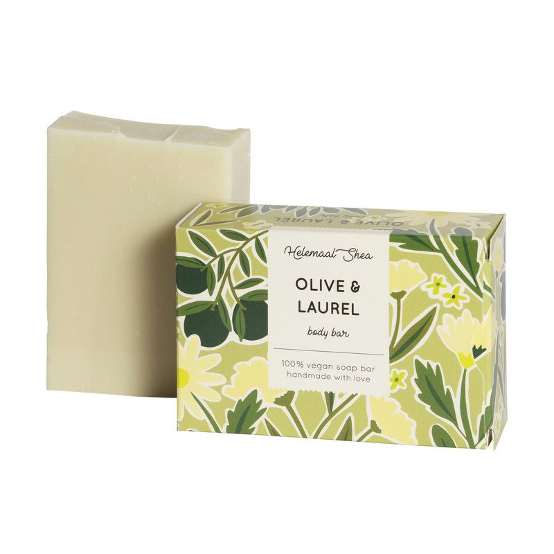 helemaalshea - olijf-laurier-zeep
