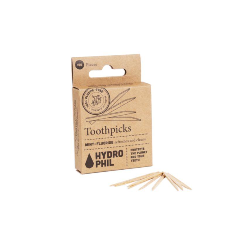 hydrophil - tandenstokers-van-fsc-bamboe-150-stuks