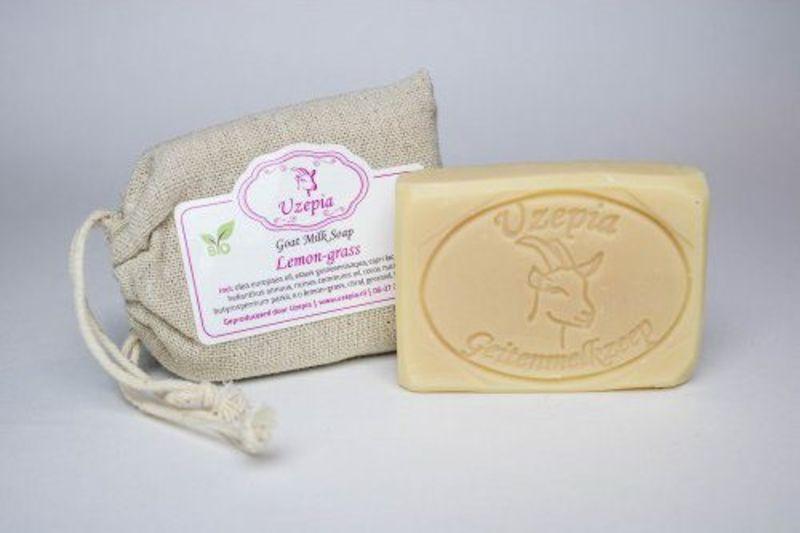 uzepia - lemon-grass-goat-milk-soap