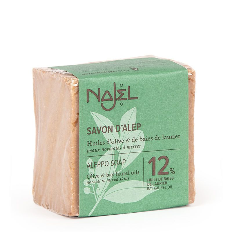najel - aleppo-zeep-met-12-laurierolie
