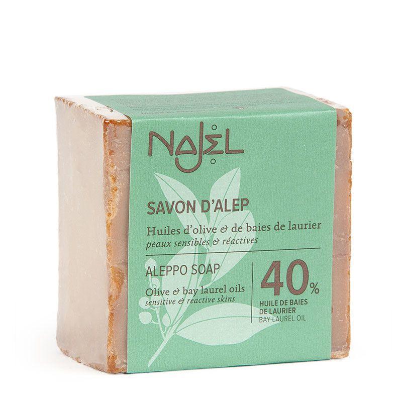 najel - aleppo-zeep-met-40-laurierolie