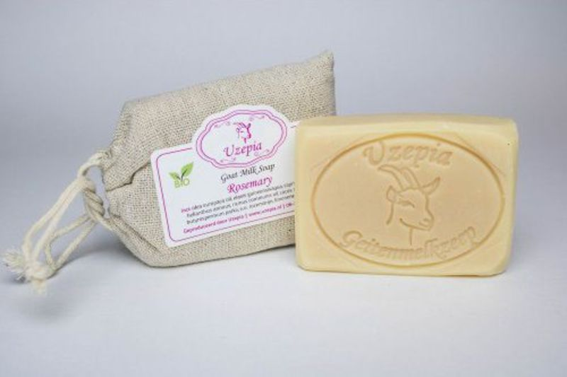 uzepia - rosemary-goat-milk-soap
