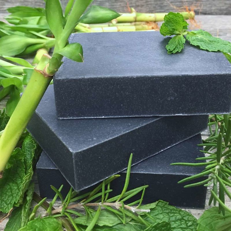 chagrin-valley - rosemary-mint-charcoal-shampoo-bar